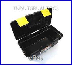 Plastic Toolbox with Handle Art Craft Storage Case Carry Tool Box Small 10 Long
