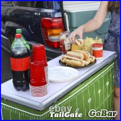 Portable Party Bar With 3 Skirt Designs Carrying Case For Parties Trade Shows