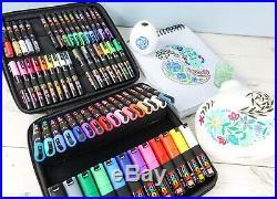 Posca Art Markers 60 Piece Carry Case Pen Set Mixed Colours & Sizes
