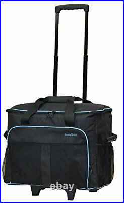 Pro Thick Padded Sewing Machine Trolley Bag Carry Case on Wheels