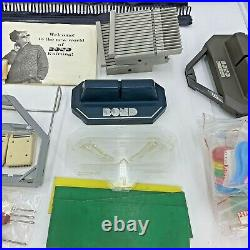 RARE Bond Knitting Machine With travel Carrying Case & TONS Of Accessories LOT