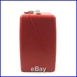 Red HARD SHELL Carrying CASE for BERNINA Minimatic 807 SEWING MACHINE 7. A3