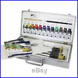 Royal & Langnickel Zen Artists 26PC Acrylic Painting Art Set In Carry Case