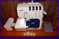 SERGER Brother 5234PRW Project Runway Limited Edition With Carrying Case