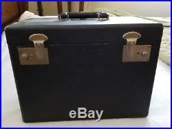 SINGER 221 Carrying Case + Manual and Accessories for a Singer Featherweight