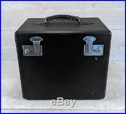 SINGER 221 FEATHERWEIGHT Sewing Machine Carry Case w Lift Out Tray Vtg 30s 40s