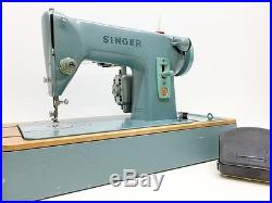 SINGER 285K SEWING MACHINE Fully Serviced + Original Carrying case