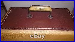 SINGER MODEL 66 16 Heavy Duty Sewing Machine with Carry Case Working Very Nice