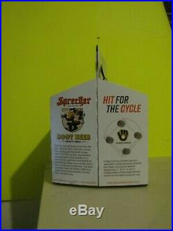 SPRECHER Brewery Craft Root Beer Milwaukee Brewer 4 Pack Tray Carrying Case