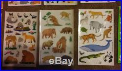Sandylion Lot of over 4000 Stickers Sticker Design plus CARRY CASE NEW