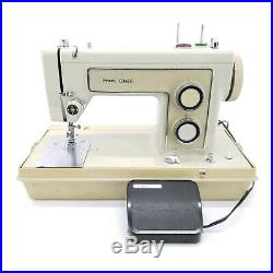 Sears Kenmore 158.13160 Sewing Machine with Pedal Carrying Case