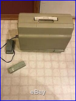 Sears Kenmore Heavy Duty Sewing Machine Metal Body Working With Carrying Case