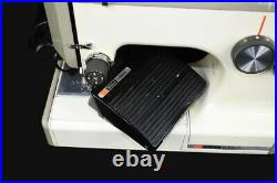 Sears Kenmore Portable Vintage Sewing Machine With Carry Case #158-10301