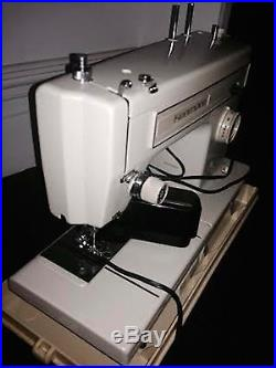Sears Kenmore sewing machine 158-12110 with carrying case and Tools Accessories