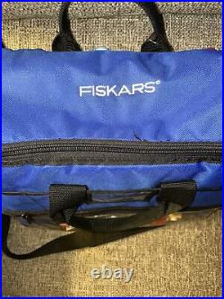Set 18 Fiskars Craft Paper Edger Scissors And Punches With Carrying Case