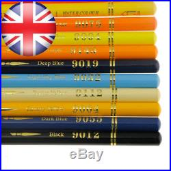 Set of 150 Watercolor Pencils with Carrying Case for Coloring Sketching Painting