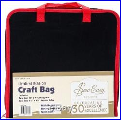 Seweasy Project Carry Case 14.5'X14.5'-Black and Red