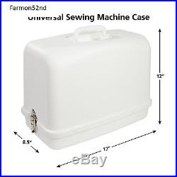 Sewing Machine Case Universal Hard Carrying Case for Most Free-Arm Sewing