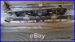Silver SK-327 Knitting Machine 1977 Version Nice Condition Carry Case