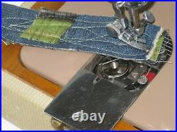 Singer 185k Electric Foot Pedal Operated Sewing Machine With Carry Case