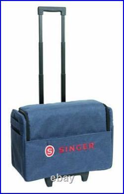 Singer 20.5 Sewing Machine Serger Roller Carrying Bag Case on Wheels