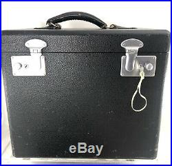 Singer 221 Featherweight Sewing Machine Carry Case Only with Tray & Key- Fast Ship