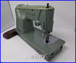 Singer 327k Steel Portable Sewing Machine Carry Case, Sew Leather Heavy Duty Sew