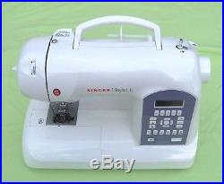 Singer 5625 Stylist Ii-with Carry Case-accessories And Optional Accessorie