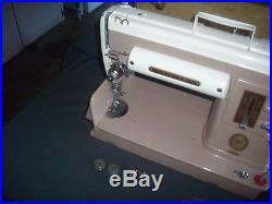Singer Model 301A Sewing Machine with Carrying Case