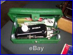 Singer Model 99 Sewing Machine in Carrying Case Beautiful
