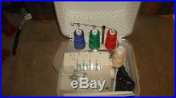 Singer Serger 236 B Extra Books Carry Case
