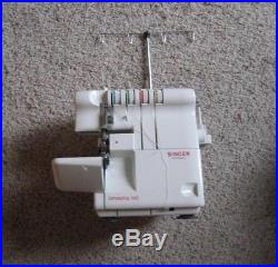 Singer Serger 3/4 thread overlock 14U454B Sewing Machine Model with Carry Case
