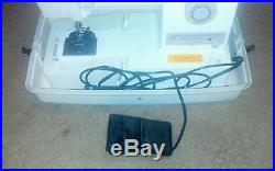 Singer Sewing Machine 9410 With Carrying Case & Foot Pedal, Very Clean, EXCELLENT+