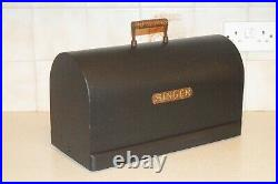 Singer Sewing Machine Upcycled Carry Case Frenchic Loof Ornamental Usable