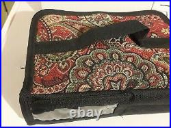 Singer Sewing Machine, carrying case & attachment and Small carrying pouch