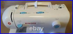 Singer Simple 2263 Sewing Machine with Pedal Carrying Case Manual CD Disc