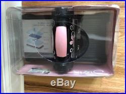 Sizzix Big Shot Pink Die Cut Machine + Doctor's Bag storage carrying case NEW