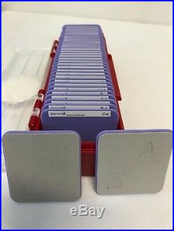 Sizzix Sizzlits Alphabet & Number 4 Sets of Dies in Carrying Case