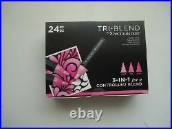 Spectrum Noir Tri Blend Bundle 24 Tri Blend Pens + Tri Blend Carry Case