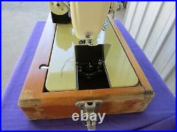 Sterling Sewing Machine Metal Carrying Case By Godfreys Vintage