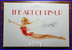 THE ART OF PIN-UP Hardcover Book Taschen Elvgren Vargas Petty In Carry Case