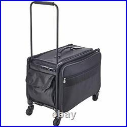 TUTTO Machine On Wheels Case, 23X14.25X14 Black