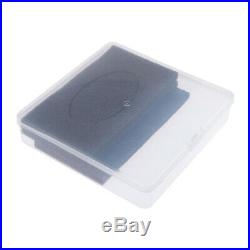 Translucent Carrying Case Model Art/Craft Supply Toolbox Storage Container
