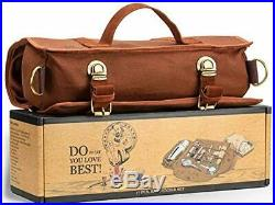 Travel Bartender Kit Bag Professional 17-piece Bar Tool Set with Stylish Porta