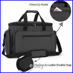 Travel Case For Sewing Machine Carrying Bag Tote Storage Vintage Accessories