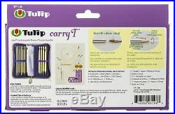 Tulip Carry T Interchangeable Bamboo Tunisian Hook Set-WithCase -TP1196