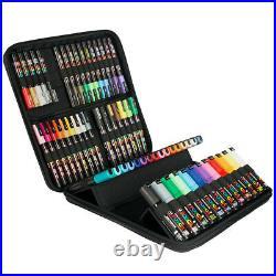 Uni Posca Marker Pens New Edition 60 Pen Set Carry Case Wallet Included