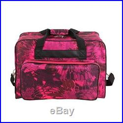 Universal Sewing Machine Carrying Case Tote Bag Red