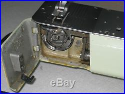 Vintage Singer 320k Free Arm Straight Zigzag Sewing Machine, Carry Case, England
