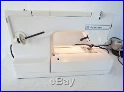 Viking Husqvarna #1 300 Series Sewing Machine with Carrying Case and Handbook